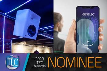 Genelec nominowany do dwóch nagród Technical Excellence and Creativity (TEC)
