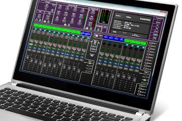 Edytor software'owy do konsolet Allen&Heath GLD