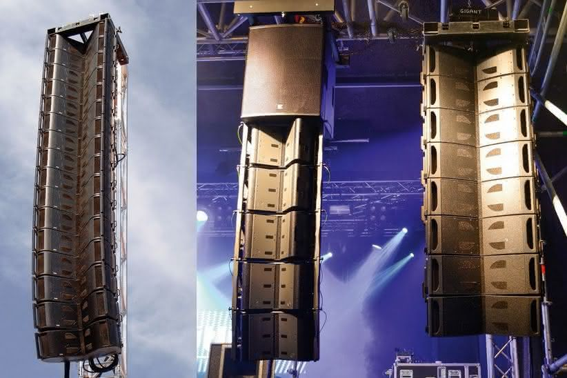 Butterfly, Mantas i Mini-COM.P.A.S.S. Kompaktowe systemy line array firmy Outline