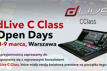dLive C Class Open Days