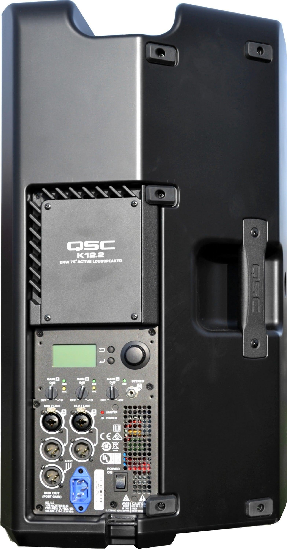 Qsc k12 podłączenie