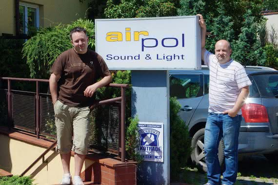Airpol Sound & Light - z pasji do nagłaśniania