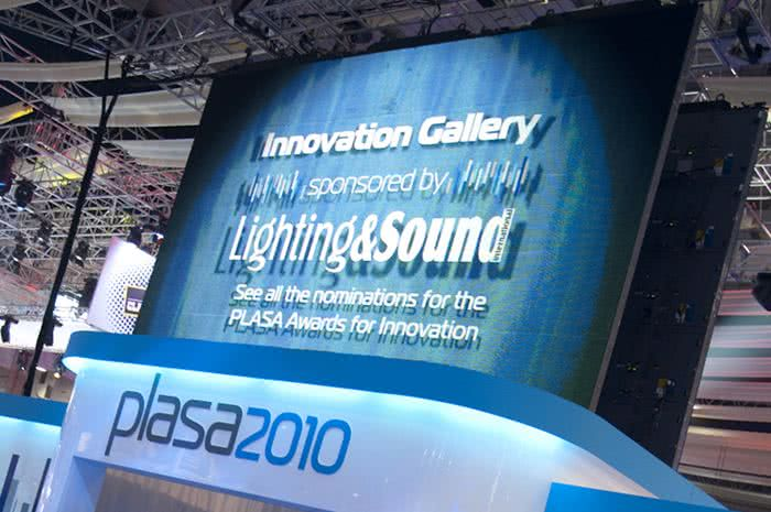 Nagrody PLASA Awards for Innovations 2010